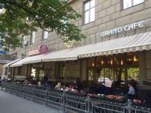 Grand Pizza and Grand Café - outside